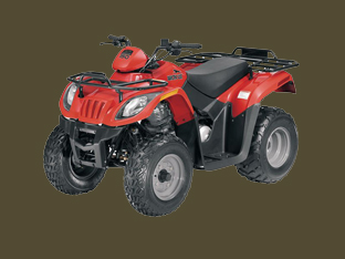 Red Arctic Cat 150 2x4 Pic