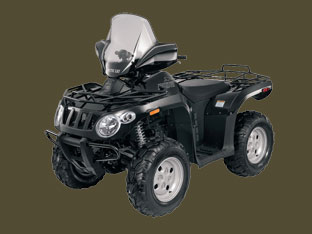 2010 Arctic Cat 366 SE ATV Black pic