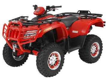 Arctic Cat 4x4 Automatic ATV specs