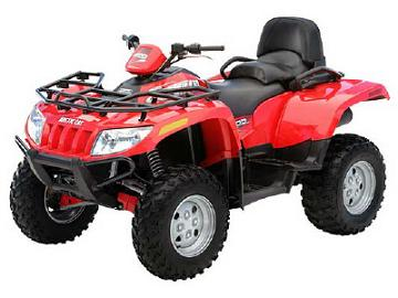 Arctic Cat ATV Specs