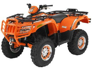 Arctic Cat ATV Specifications