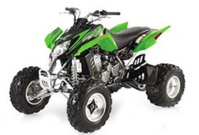 Arctic Cat DVX 400 2007 ATV green