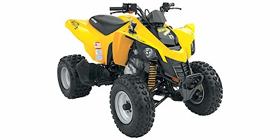 Can-Am DS 250 2007 yellow ATV