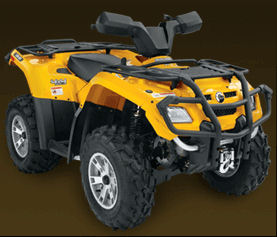 Can-Am Outlander 400 H.O. XT 2007 specs