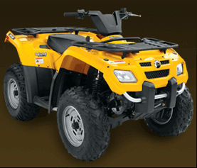 Can am outlander 400 H.O. specs