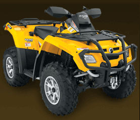 Can-Am Outlander 800 H.O. EFI with XT package
