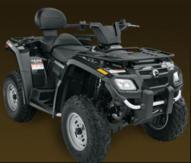 2007 Can-Am Outlander Max 400 H.O. Specs