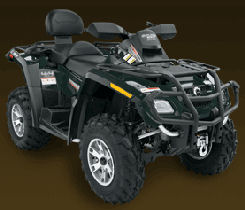 Can-Am Outlander Max 650 H.O. EFI XT green