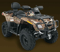 Can-Am Outlander Max 650 H.O. EFI XT camo