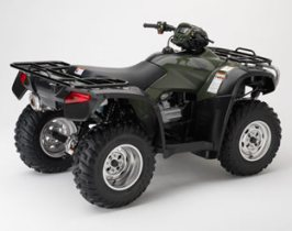 Honda FourTrax Foreman Rubicon GPScape 500 4wd back