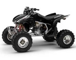 Sportrax TRX450R Kick Start
