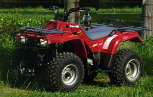 kawasaki bayou 400 4x4 1999 specs - quads / atv's in south africa