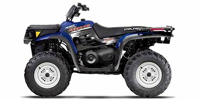 Polaris Magnum 4 wheel drive quad bike
