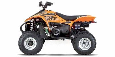 2006 Polaris Scrambler 500 Quad Bike
