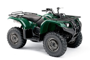 Yamaha Kodiak 400 4x4 Automatic Green Quad Bike