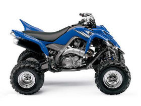 Yamaha Raptor 700R Racing Quad