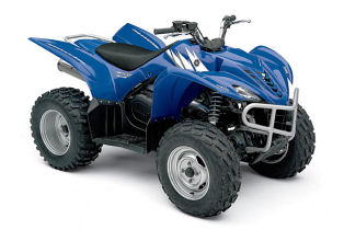 Wolverine 4x4 Quad bike blue