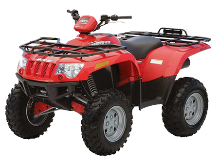 4x4 400 arctic cat atv