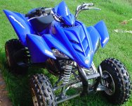 Yamaha Raptor YFM350 for sale