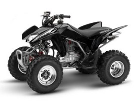 Honda trx250ex ATV black