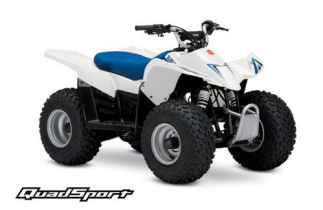 Suzuki QuadSport Z50 Automatic LTZ50 White