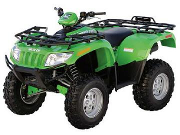 Arctic Cat 650 V2 4x4 Automatic Quad