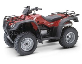 Honda FourTrax Rancher 350 ES 4x4 TRX350FE red