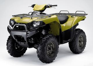 Kawasaki ATV Specifications