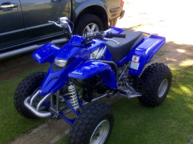 Blue Yamaha Blaster 2006 for sale