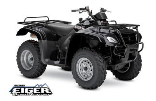 Eiger QuadRunner 400 4x4 Semi Automatic Black