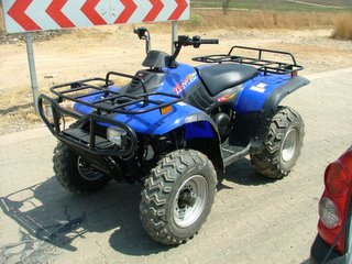 2006 Linhai Rustler 260 XL ATV specs and photos of Linhai Rustler 260 XL