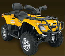 Can-Am Outlander Max 400 H.O. XT ATV specs and photos of Can-Am Outlander Max 400 H.O. XT 2007
