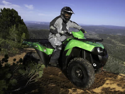 Kawasaki Brute Force 650 4x4 ATV specs and photos of Kawasaki Brute Force 650 4x4 2007