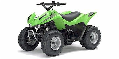 Kawasaki KFX 90 ATV specs and photos of Kawasaki KFX 90 2007