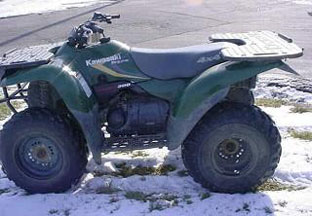 Kawasaki Lakota 300 ATV specs and photos of Kawasaki Lakota 300 1999