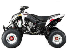 Polaris Predator 500 Troy Lee Edition ATV specs and photos of Polaris Predator 500 Troy Lee Edition 2006
