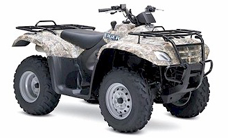 Suzuki Eiger 400 4x4 Automatic Camo ATV specs and photos of Suzuki Eiger 400 4x4 Automatic Camo 2007