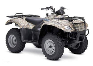 Suzuki Eiger 400 4x4 Semi-Automatic Camo ATV specs and photos of Suzuki Eiger 400 4x4 Semi-Automatic Camo 2007