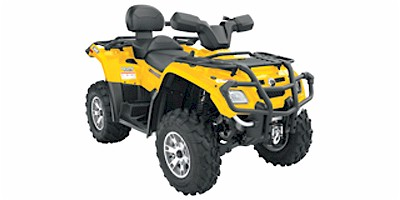 Can-Am Outlander MAX 400 H.O.XT ATV specs and photos of Can-Am Outlander MAX 400 H.O.XT 2007