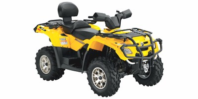 Can-Am Outlander MAX 400 H.O. XT ATV specs and photos of Can-Am Outlander MAX 400 H.O. XT 2008