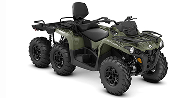 2020 Can-Am Outlander MAX 6x6 DPS 450 ATV specs and photos of Can-Am Outlander MAX 6x6 DPS 450