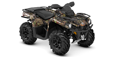 2020 Can-Am Outlander Mossy Oak Edition 450 ATV specs and photos of Can-Am Outlander Mossy Oak Edition 450