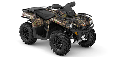 2020 Can-Am Outlander Mossy Oak Edition 570 ATV specs and photos of Can-Am Outlander Mossy Oak Edition 570
