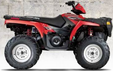 Polaris Sportsman 500 EFI ATV specs and photos of Polaris Sportsman 500 EFI 2006