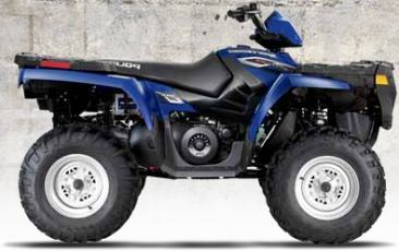 Polaris Sportsman 500 H. O. ATV specs and photos of Polaris Sportsman 500 H. O. 2006