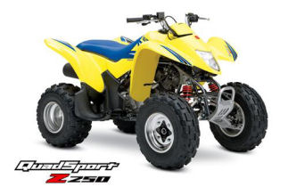 Suzuki QuadSport Z250 Semi-Automatic ATV specs and photos of Suzuki QuadSport Z250 Semi-Automatic 2006