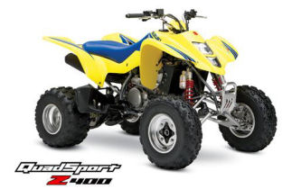 Suzuki QuadSport Z400 ATV specs and photos of Suzuki QuadSport Z400 2006