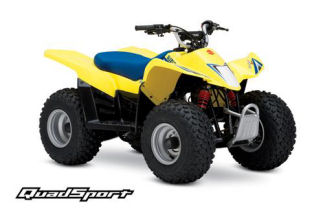 Suzuki QuadSport Z50 Automatic ATV specs and photos of Suzuki QuadSport Z50 Automatic 2006