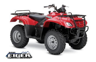 Suzuki Eiger 400 4x4 Automatic ATV specs and photos of Suzuki Eiger 400 4x4 Automatic 2006