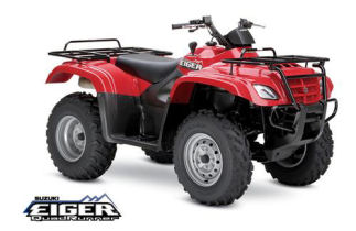 Suzuki Eiger 400 4x2 Automatic ATV specs and photos of Suzuki Eiger 400 4x2 Automatic 2006